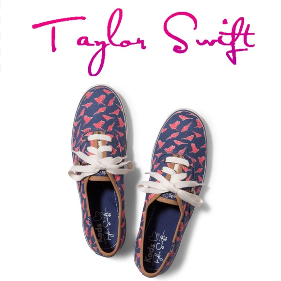 Keds Taylor Swift Collection Champ Finches Blue 10 dc4db9c93